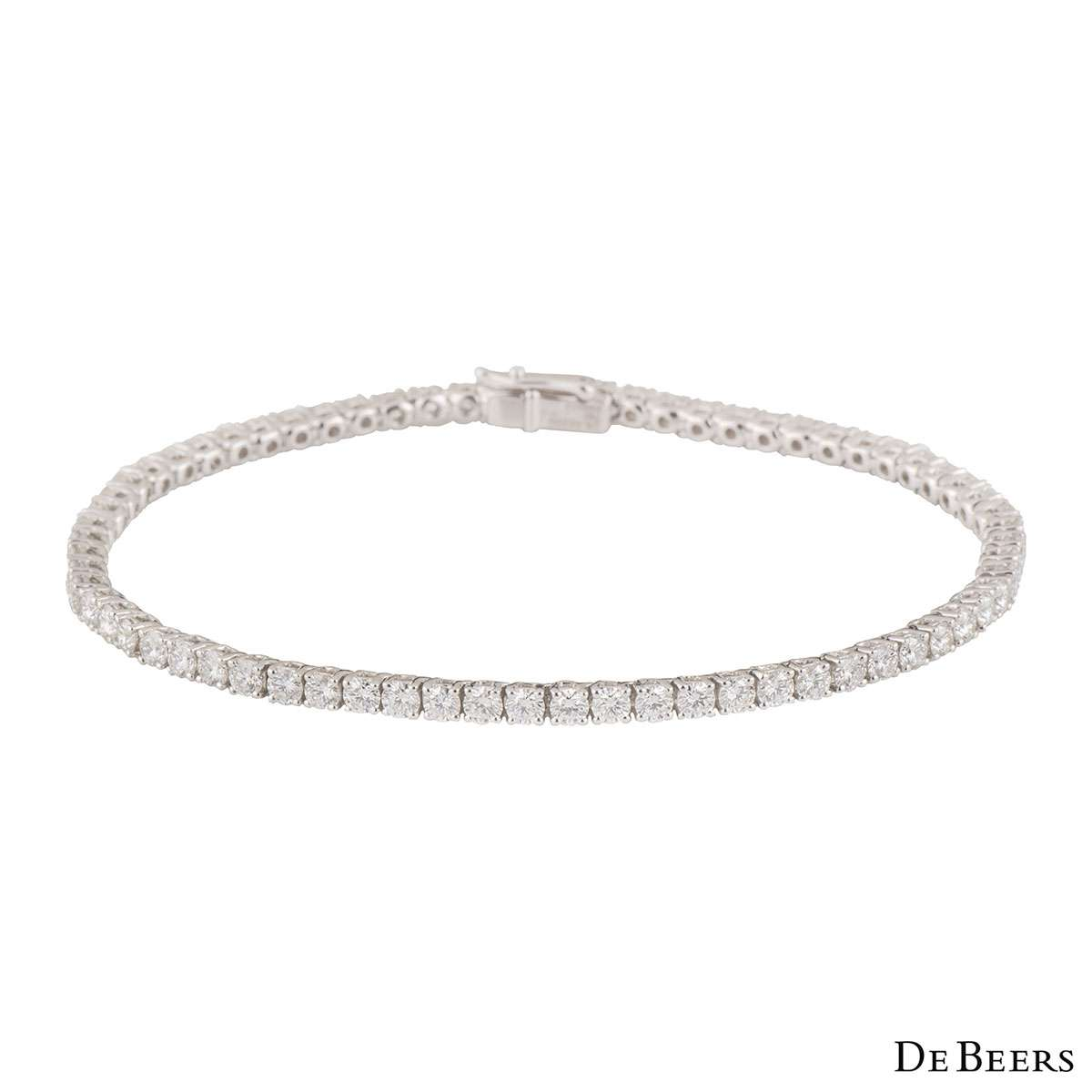 jewelry carat fascinating bracelets tennis white round nl buy diamonds diamond bracelet online eternity gold wg in